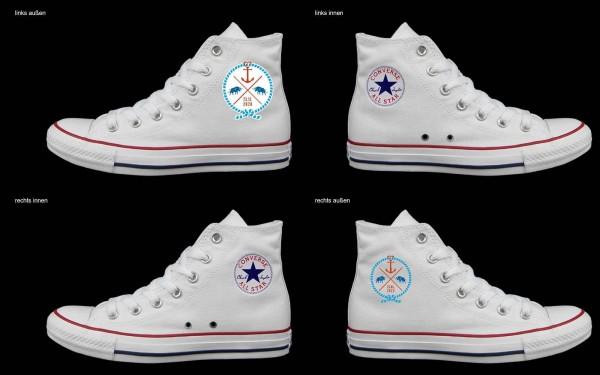 Schuh (Design: 7278 )Converse High
