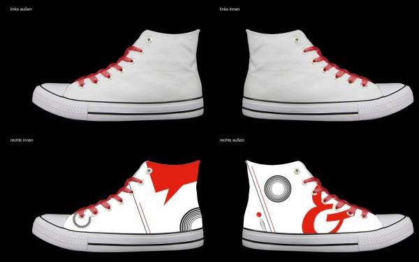 Schuh (Design: 4691 )Sneaker High