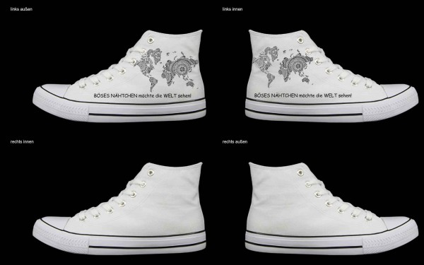 Schuh (Design: 4493 )Sneaker High