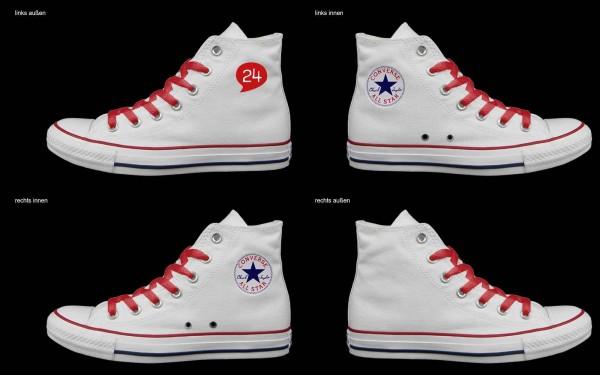 Schuh (Design: 5424 )Converse High