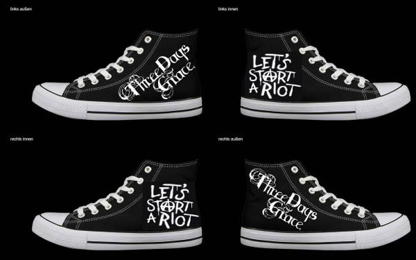 Schuh (Design: 7686 )Sneaker High