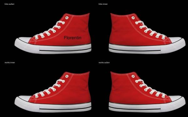 Schuh (Design: 7329 )Sneaker High