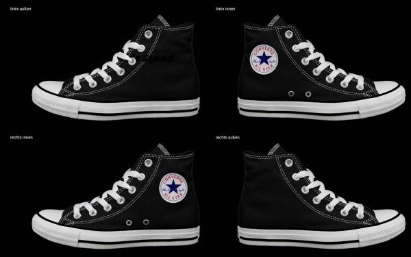 Schuh (Design: 4332 )Converse High