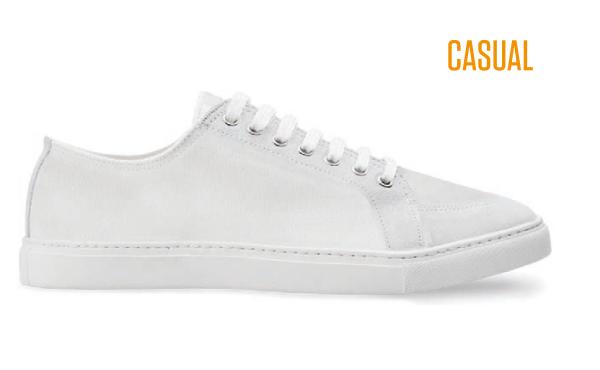 Casual Sneaker Weiß - ID-Sneakers