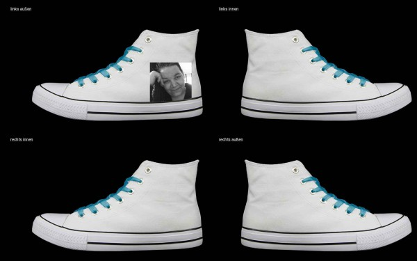 Schuh (Design: 5105 )Sneaker High