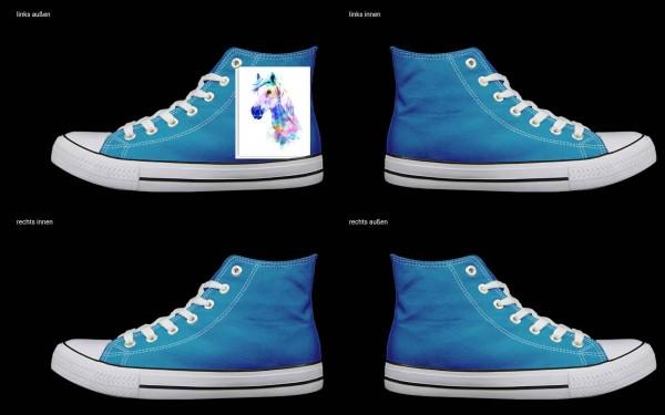 Schuh (Design: 4878 )Sneaker High