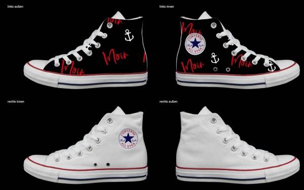 Schuh (Design: 7141 )Converse High