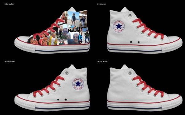 Schuh (Design: 5758 )Converse High