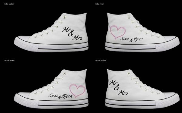 Schuh (Design: 8042 )Sneaker High