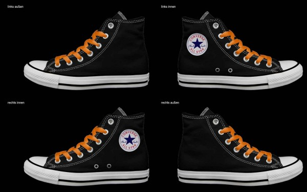 Schuh (Design: 3297 )Converse High
