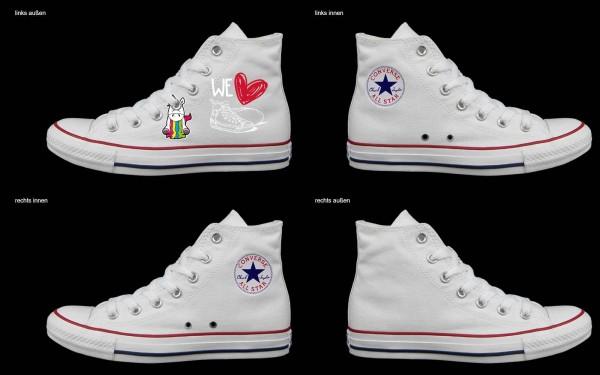 Schuh (Design: 7818 )Converse High