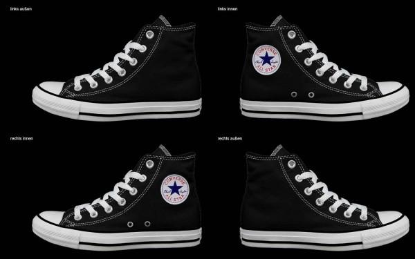 Schuh (Design: 4481 )Converse High