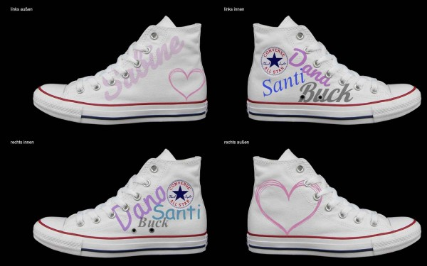 Schuh (Design: 7659 )Converse High
