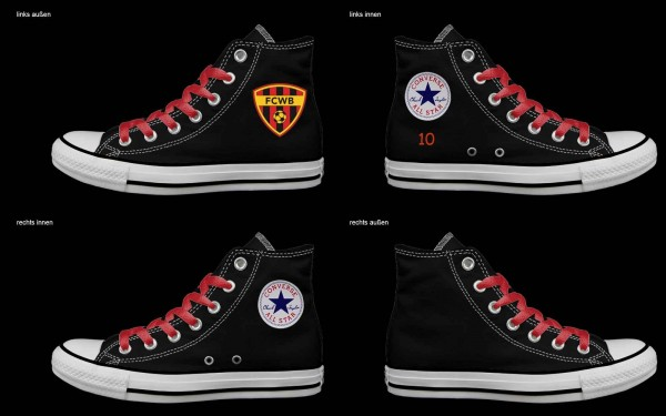 Schuh (Design: 4163 )Converse High