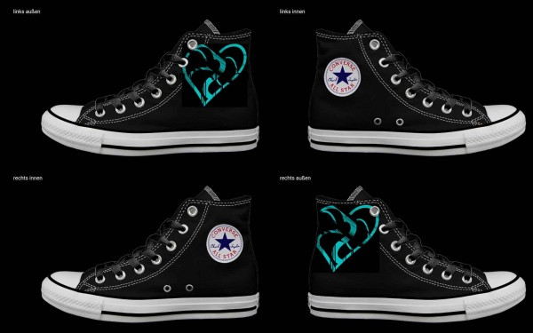 Schuh (Design: 7624 )Converse High