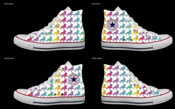 Schuh (Design: 3483 )Converse High
