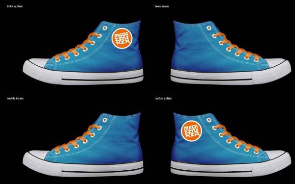 Schuh (Design: 4711 )Sneaker High