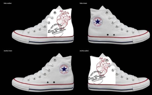 Schuh (Design: 4327 )Converse High