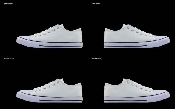 Schuh (Design: 6654 )Sneaker Low