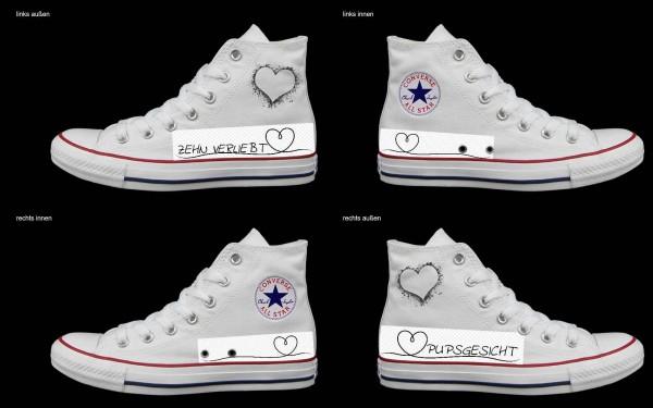 Schuh (Design: 8020 )Converse High