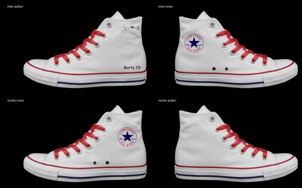 Schuh (Design: 4941 )Converse High