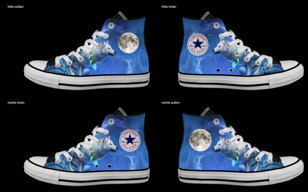 Schuh (Design: 8105 )Converse High