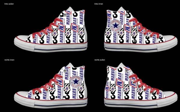 Schuh (Design: 7731 )Converse High