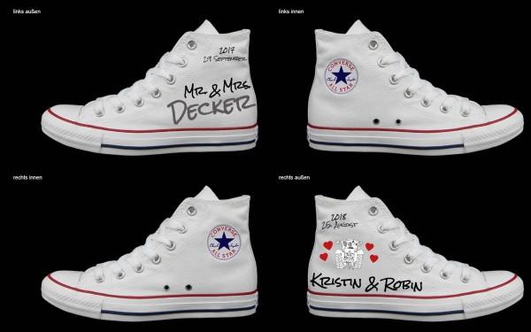 Schuh (Design: 3461 )Converse High
