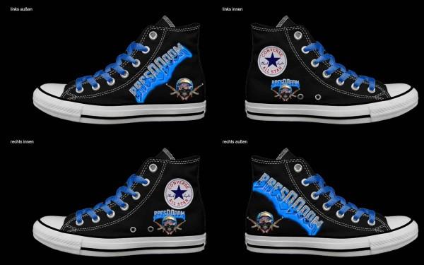 Schuh (Design: 7678 )Converse High