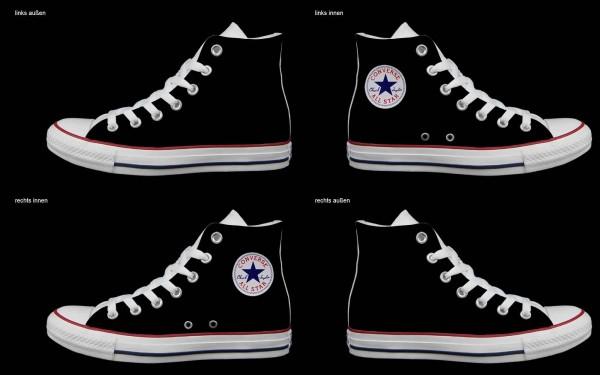 Schuh (Design: 5512 )Converse High