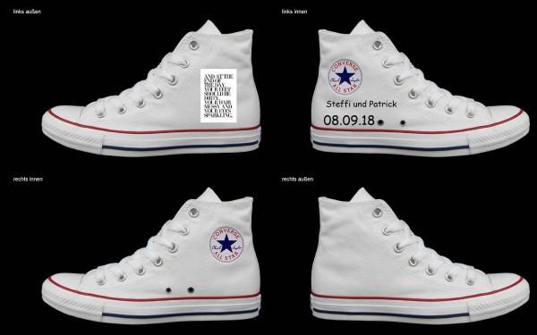 Schuh (Design: 3300 )Converse High