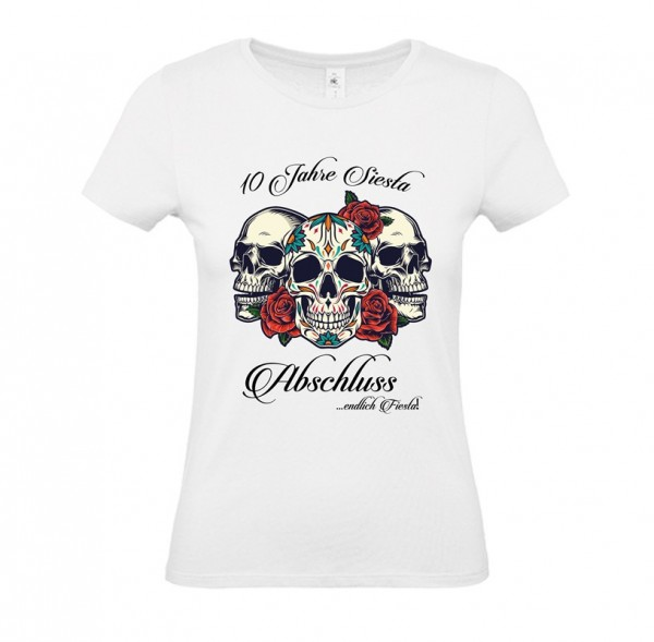 Damen Shirt White - FIESTA SIESTA