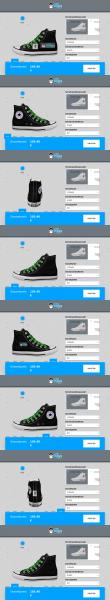 Schuh (Design: 14830) converse high