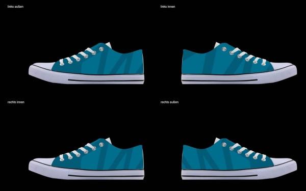 Schuh (Design: 7725 )Sneaker Low