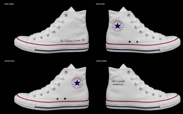 Schuh (Design: 5724 )Converse High