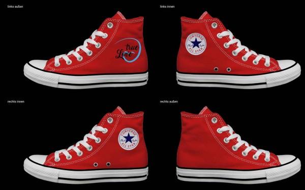 Schuh (Design: 4695 )Converse High