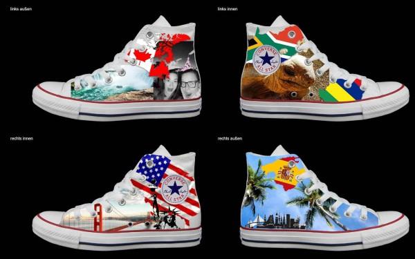Schuh (Design: 7376 )Converse High