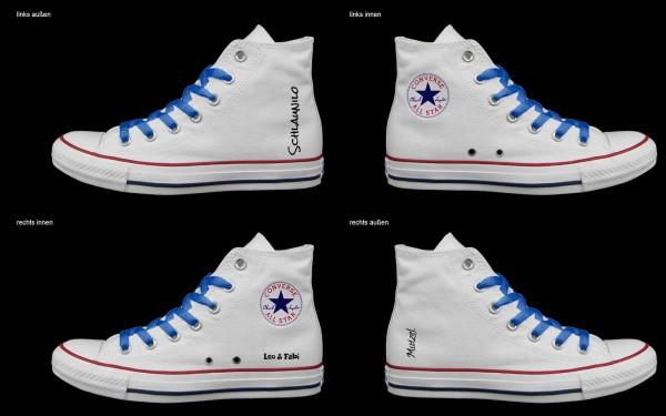 Schuh (Design: 6614 )Converse High