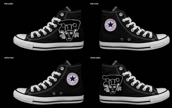 Schuh (Design: 6686 )Converse High