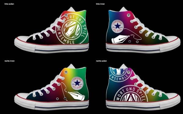 Schuh (Design: 7611 )Converse High