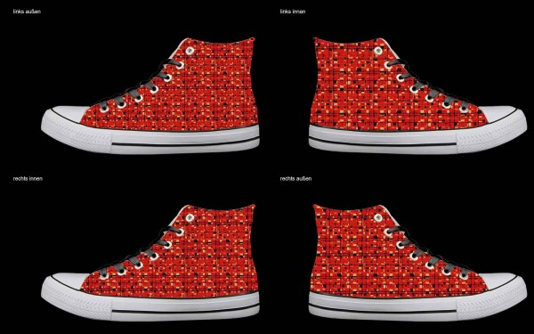 Schuh (Design: 7756 )Sneaker High