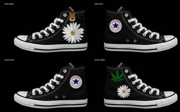 Schuh (Design: 5432 )Converse High