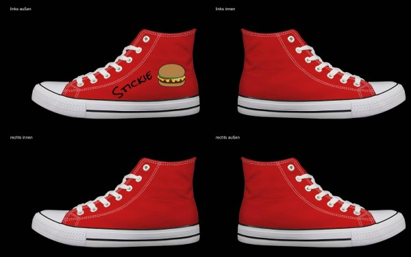 Schuh (Design: 7665 )Sneaker High