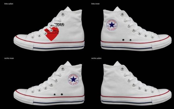 Schuh (Design: 4572 )Converse High