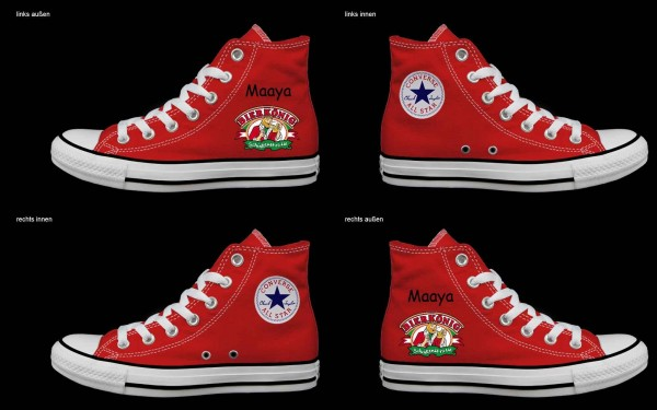 Schuh (Design: 5816 )Converse High