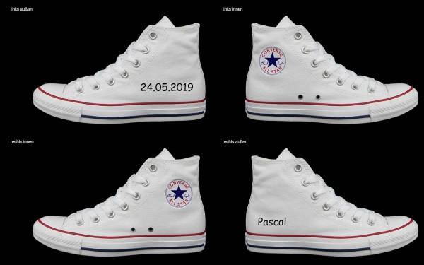 Schuh (Design: 4474 )Converse High
