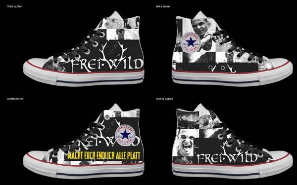 Schuh (Design: 5054 )Converse High