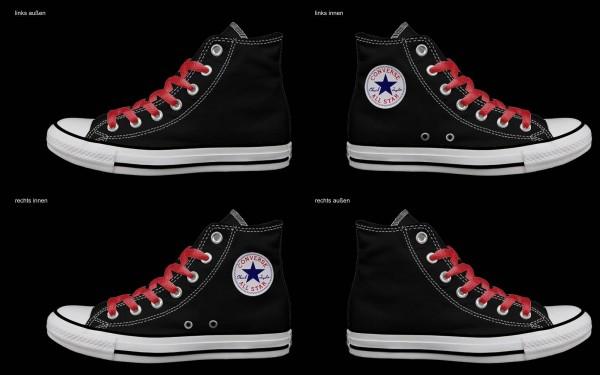Schuh (Design: 4862 )Converse High