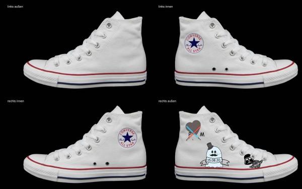 Schuh (Design: 8123 )Converse High