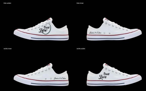 Schuh (Design: 7645 )Converse Low